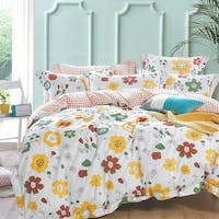 Sleep Buddy Set Sprei Colorfull Mind Cotton Sateen 160x200x30