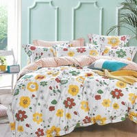 Sleep Buddy Set Sprei dan Bed Cover Colorfull Mind Cotton Sateen 180x200x30