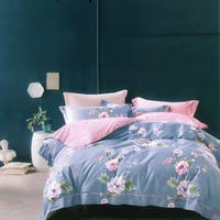 Sleep Buddy Sleep Buddy Set Sprei dan Bed Cover Shrimps Flower Cotton Sateen 160x200x30
