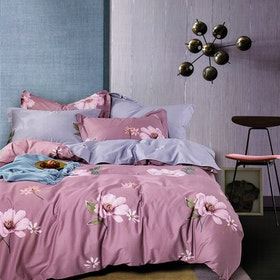 Sleep Buddy Sleep Buddy Set Sprei Sun Flower Cotton Sateen 160x200x30