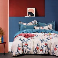 Sleep Buddy Sleep Buddy Set Sprei Fruit Leaf Cotton Sateen 160x200x30