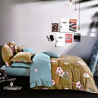 Sleep Buddy Sleep Buddy Set Sprei Peach Flower Cotton Sateen 160x200x30