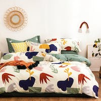 Sleep Buddy Sleep Buddy Set Sprei dan Bed Cover Matchy Cotton Sateen 120x200x30
