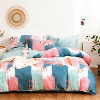 Sleep Buddy Sleep Buddy Set Sprei Pattern Draw Cotton Sateen 200x200x30