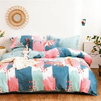 Sleep Buddy Sleep Buddy Set Sprei dan Bed Cover Pattern Draw Cotton Sateen 200x200x30