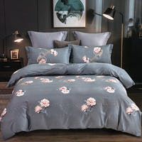 Sleep Buddy Set Sprei Grey Distance Cotton Sateen 160x200x30
