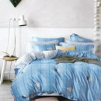 Sleep Buddy Set Sprei dan Bed Cover Back Cat Tencel 180x200x30