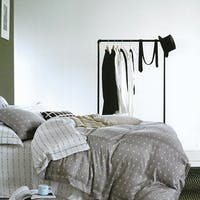 Sleep Buddy Set Sprei dan Bed Cover Mine Grey Tencel 180x200x30