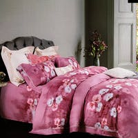 Sleep Buddy Set Sprei dan Bed Cover With Me Pink Tencel 120x200x30