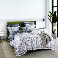 Sleep Buddy Set Sprei White Dark Tencel 120x200x30