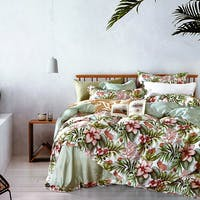 Sleep Buddy Set Sprei Flower Garden Tencel 120x200x30