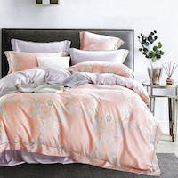 Sleep Buddy Set Sprei dan Bed Cover Cool Damask Tencel 160x200x30