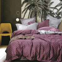 Sleep Buddy Set Sprei dan Bed Cover Aidhan Square Tencel 160x200x30