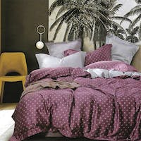 Sleep Buddy Set Sprei dan Bed Cover Aidhan Square Tencel 180x200x30