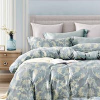 Sleep Buddy Set Sprei dan Bed Cover Classic Blue Tencel 180x200x30