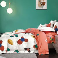 Sleep Buddy Set Sprei Spinner Leaf Cotton Sateen 160x200x30