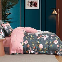 Sleep Buddy Set Sprei Pink Rose Cotton Sateen 160x200x30