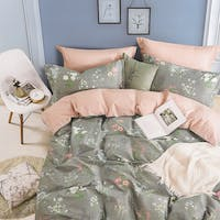 Sleep Buddy Set Sprei Begonia Cotton Sateen 160x200x30