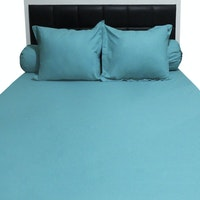 Sleep Buddy Set Sprei Plain Tosca CVC 160x200x30