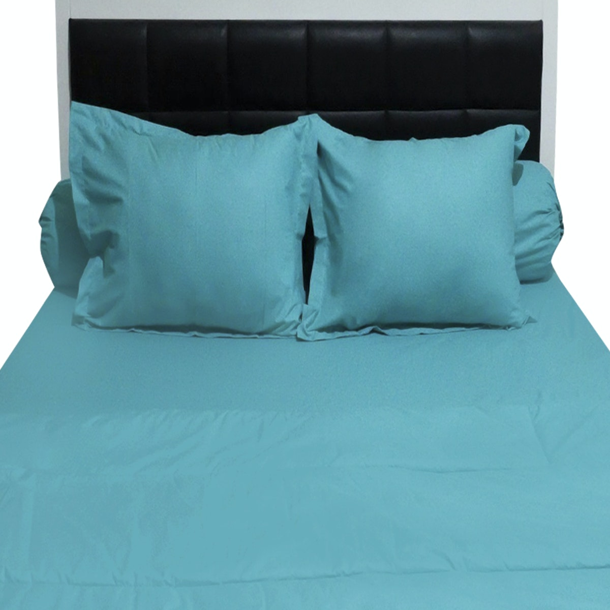 Sleep Buddy Set Sprei dan Bed Cover Plain Tosca CVC 160x200x30