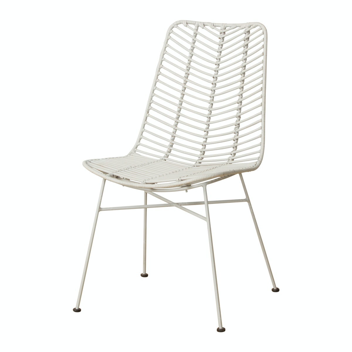 Cass Living MORY CHAIR Light Grey