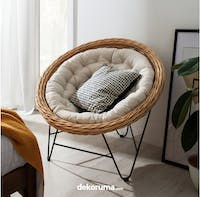 Cass Living Modified Papasan   Chair