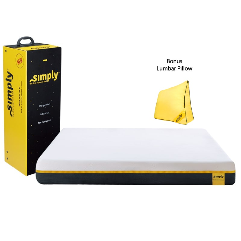 Simply Bed Kasur Uk 180x200 (Rolled Mattress)