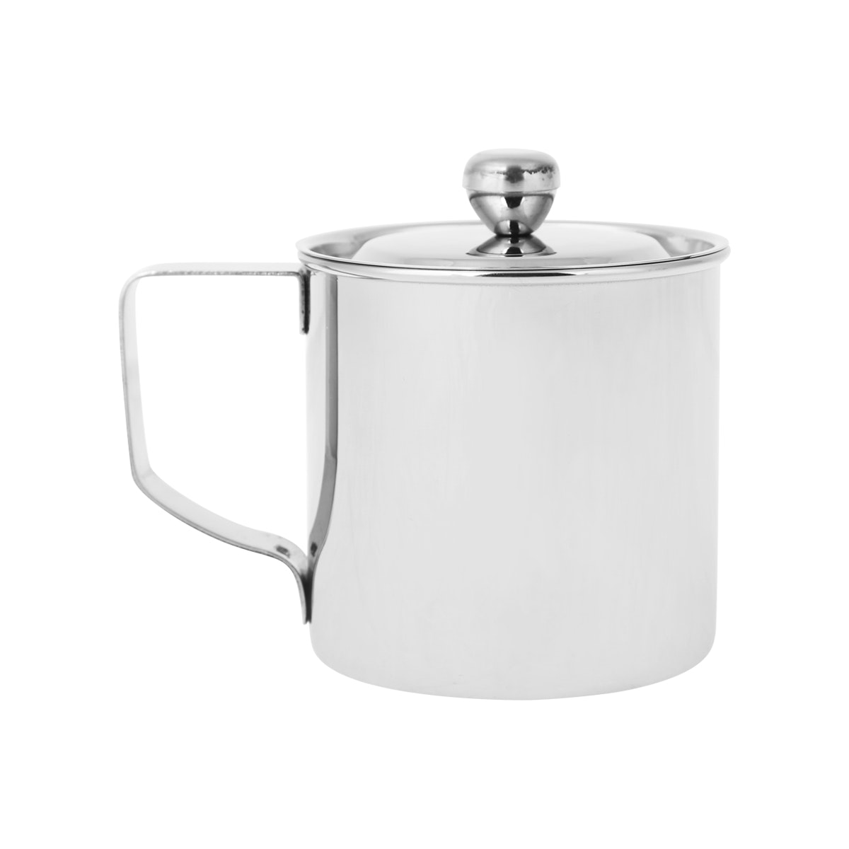 Cookville Stainless Steel Mug With Cover [8cm]