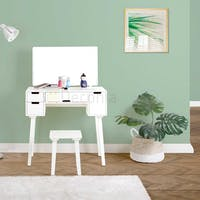 Deconia Hera Dressing Table Ivory