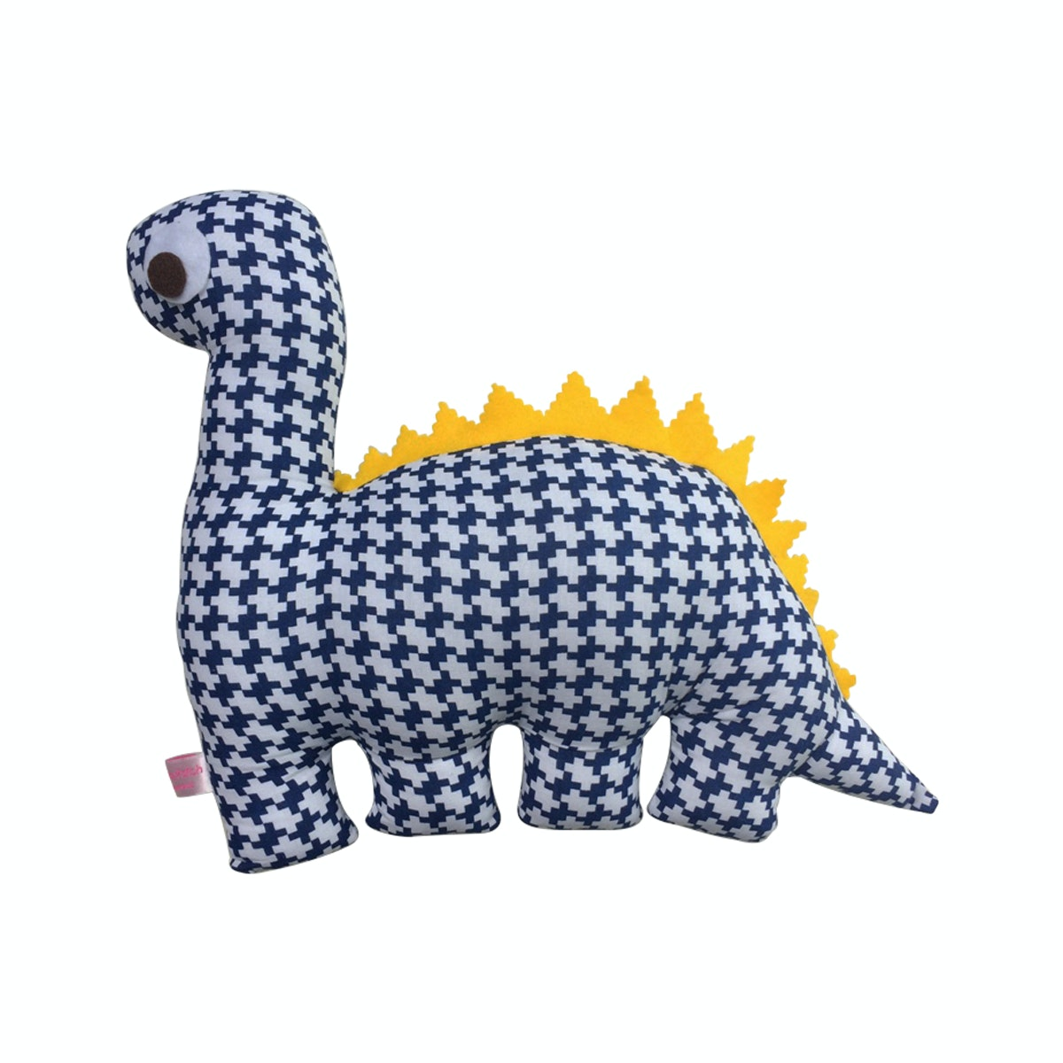 Strawberry Patch Dino Cushion Biru Tua