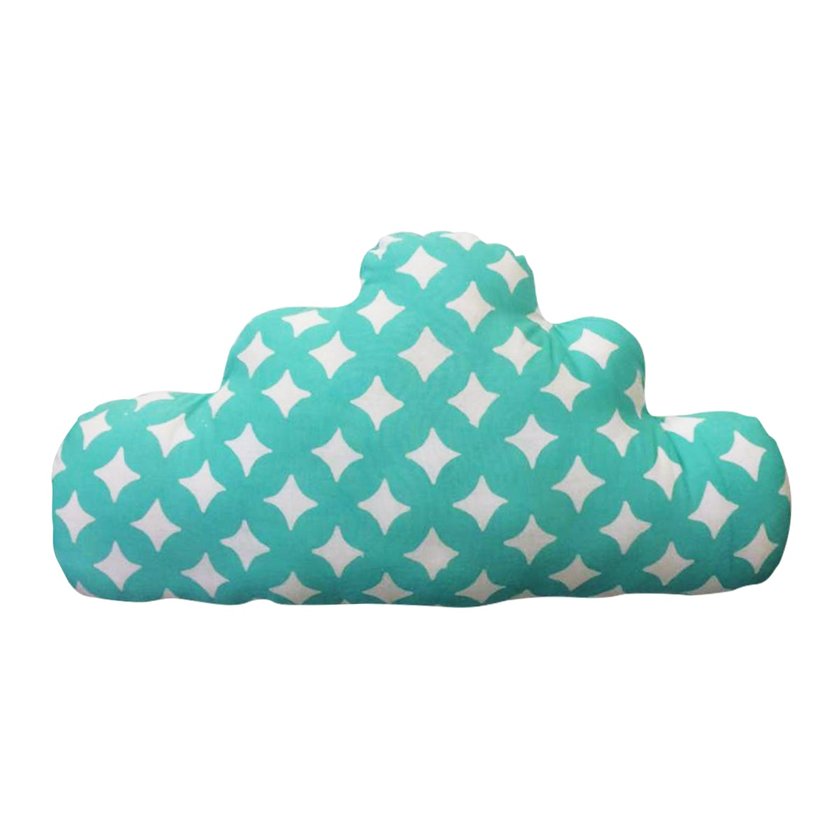 Strawberry Patch Cloud Cushion Batik Toska