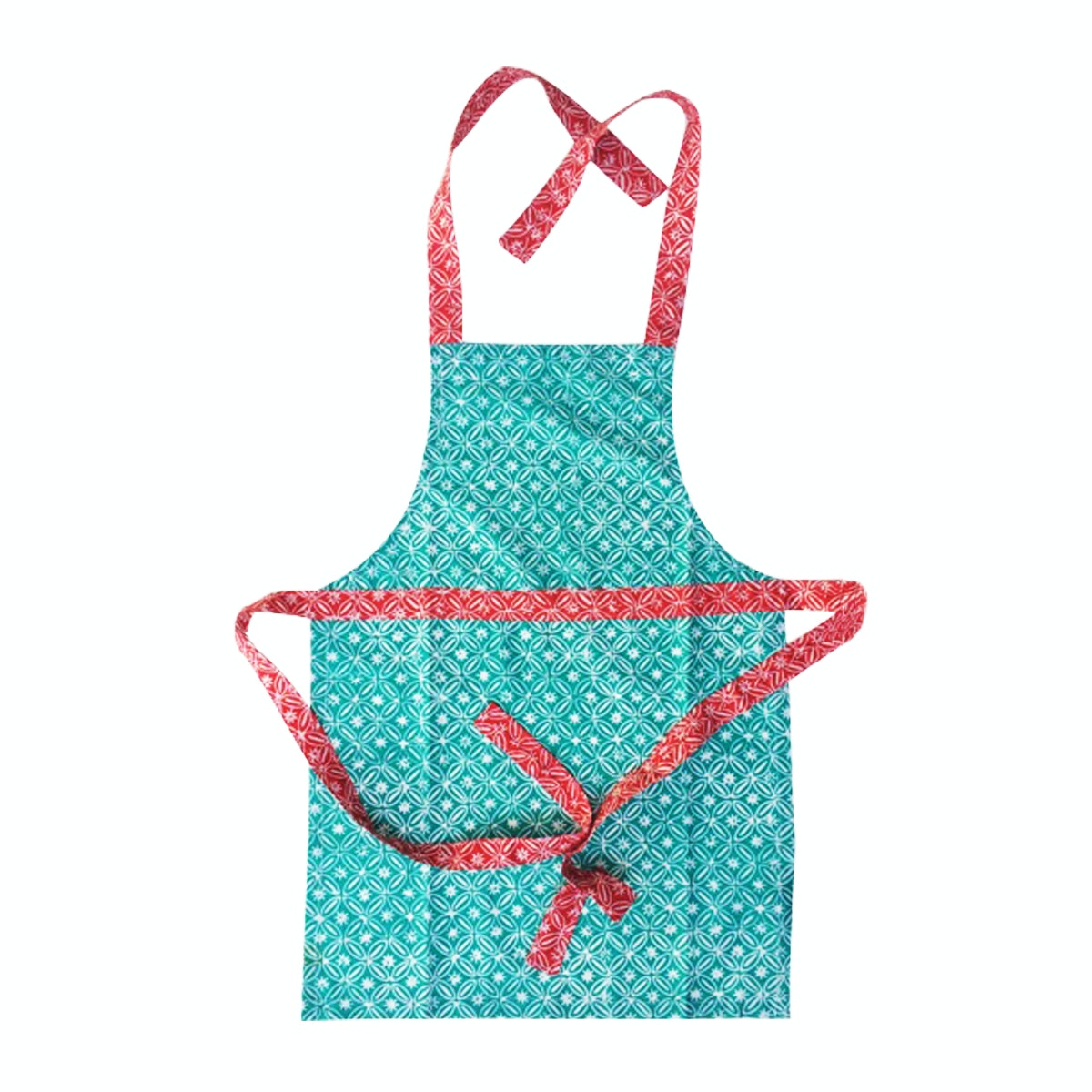 Strawberry Patch Apron Batik Anak-anak Tosca