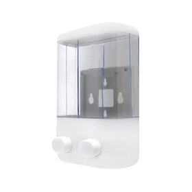 StarHome StarHome StarHome Dispenser Sabun Cair 2 in 1 Manual - Tempat Sabun Cair 2 in 1 ABS - Putih