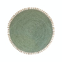 TAN LIVING Placemate Shell Light Gray