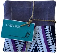 TAN LIVING Drink Coaster Lavender