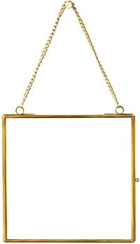 TAN LIVING Square Hanging Photo Frame