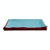 Tan Living Napkin Linen Baby Blue