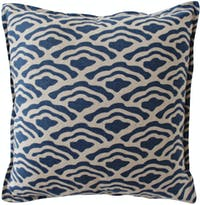 Tan Living Sarung Bantal Ocean Blue 50x50