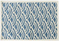 Tan Living Placemate Ocean Blue Set Of 2