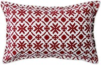 Tan Living Sarung Bantal Flake R92 Maroon Small