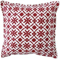 Tan Living Sarung Bantal Flake R92 Maroon Medium