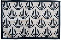 Tan Living Bath mat Coral Hitam