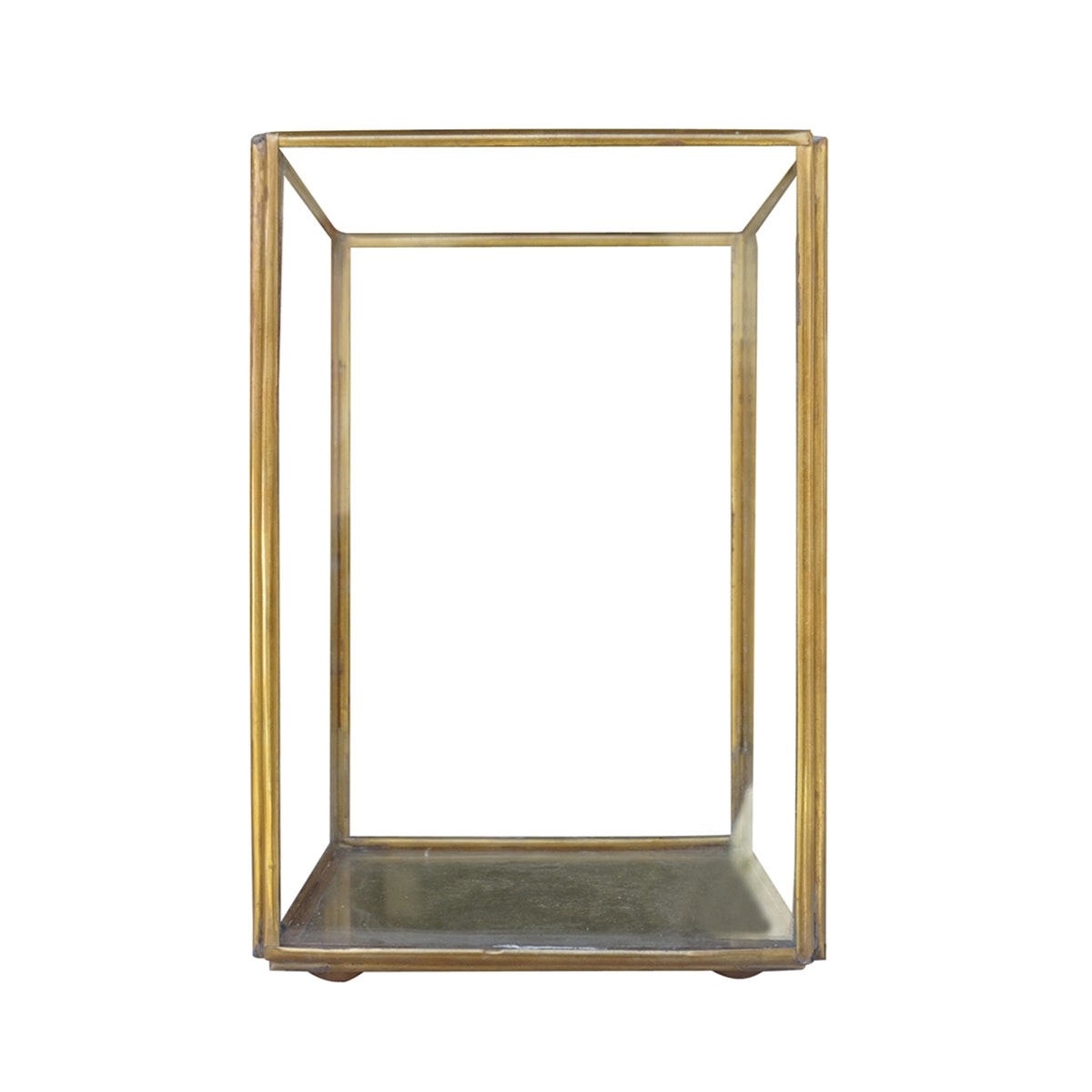 TAN LIVING Candle Holder Glass Small