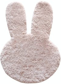 The Alice's Place Karpet Bunny Head 55x75cm Pink