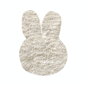 The Alice's Place Karpet Bunny Head 55x75cm White