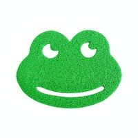 The Alice's Place Keset Frog Lime Green 50x55cm