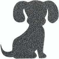 The Alice's Place Keset Doggie Grey Black 50x55cm