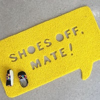 The Alice's Place Shoes Off 50 x 80 cm Yellow