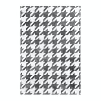 Vision Pop Houndstooth 110 x 160 cm Grey White
