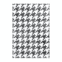 Vision Pop Houndstooth 160 x 220 cm Grey White